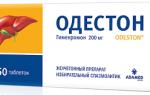 Одестон (odeston®) — инструкция по применению, состав, аналоги препарата, дозировки, побочные действия