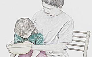 Промывание желудка у детей: техника и алгоритм действий