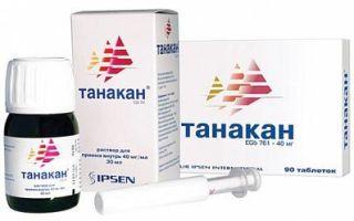 Танакан: аналоги подешевле, отзывы врачей неврологов, инструкция