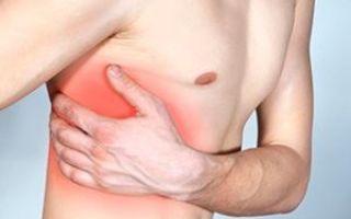 Покалывание под ребрами: слева и справа — причины