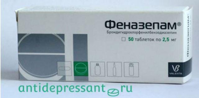 Феназепам – действие и влияние препарата на организм