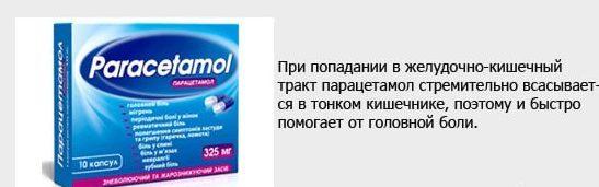 Парацетамол от головной боли - когда помогает препарат, можно ли пить таблетки парацетамола при головной боли