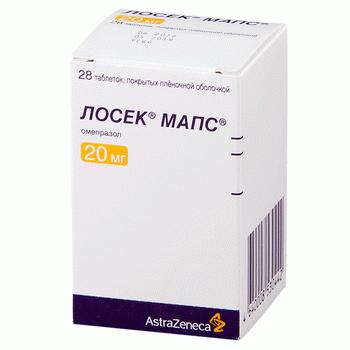 Лосек МАПС - инструкция по применению, описание, отзывы пациентов и врачей, аналоги