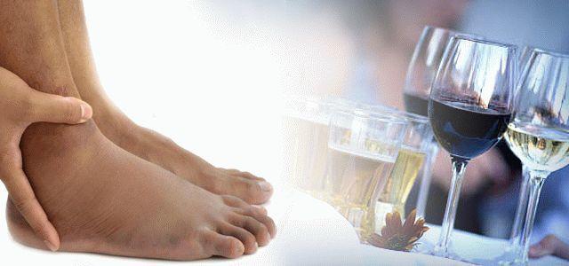 После алкоголя отекают ноги и почему после пива отекают