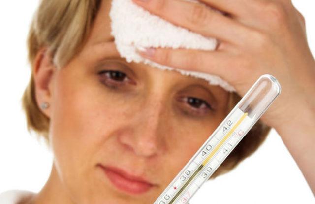 Болит горло ломит тело температуры нет