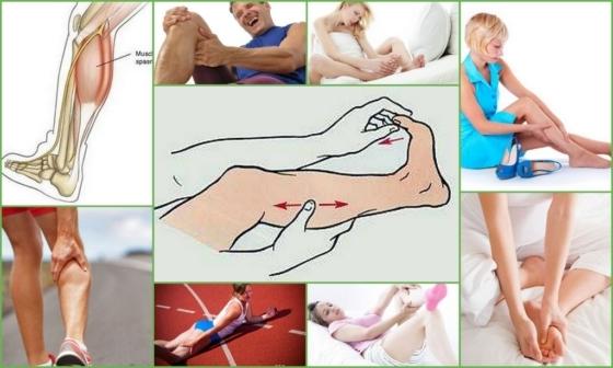 Что делать при судорогах в ногах: первая помощь