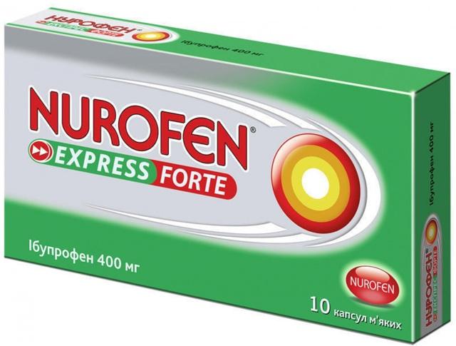 Инструкция по применению Нурофен® (таблетки)