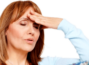 Головокружение причины у женщин при климаксе: слабость, шум в голове