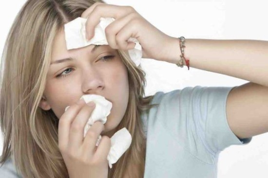 Головная боль при насморке: частый насморк