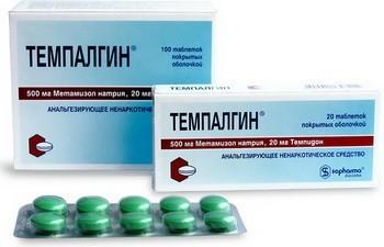 Темпалгин - инструкция по применению, описание, отзывы пациентов и врачей, аналоги