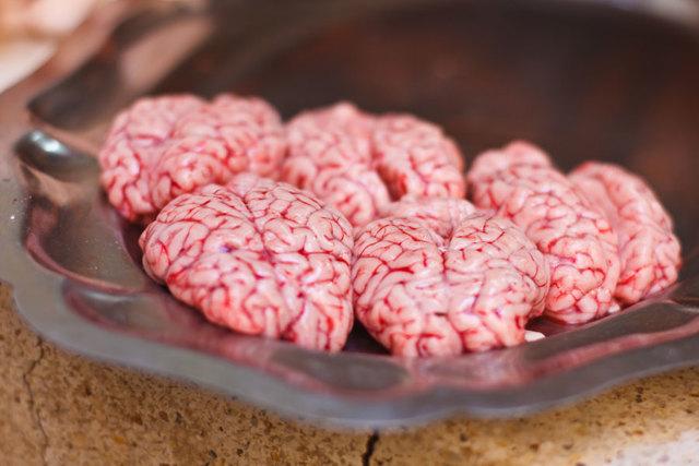 Говяжий мозг - химический состав, пищевая ценность, БЖУ