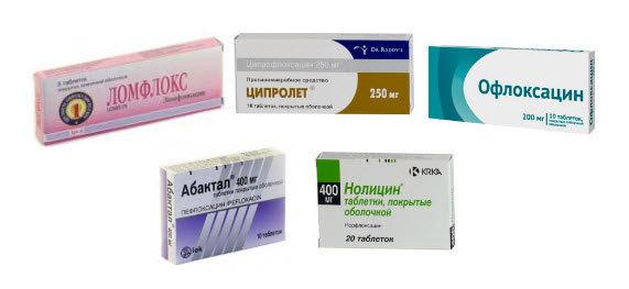 Антибиотики фторхинолоны: названия групп препаратов и список 4 поколения, офлоксацин