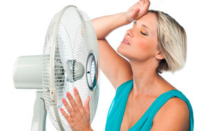 Бросает в жар без температуры