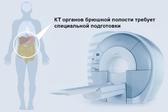 Подготовка к КТ брюшной полости: прием внутрь Урографина, что можно есть и пить?