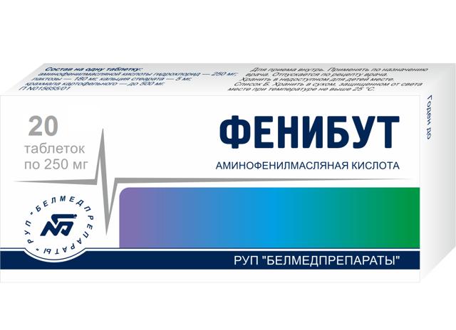 Препарат «Фенибут» - инструкция, показания, цены и отзывы