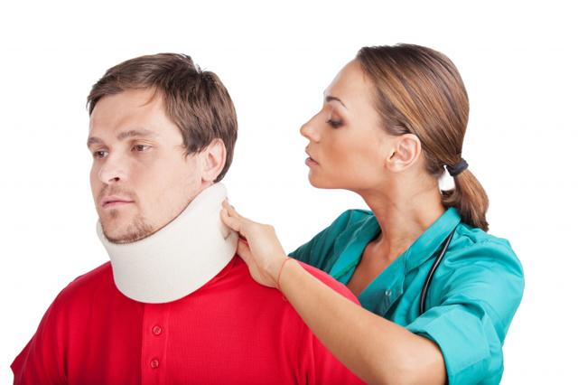 Боль в шее при наклоне головы назад или вперед
