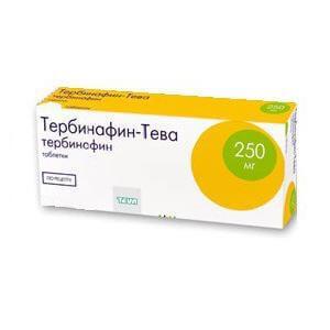 Тербинафин (табл.): цена, отзывы, инструкция по применению