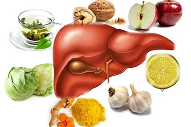 Продукты для поджелудочной железы и печени - Всё о печени