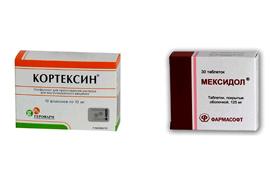 Мексидол или Кортексин что лучше, отзывы о совместном применении