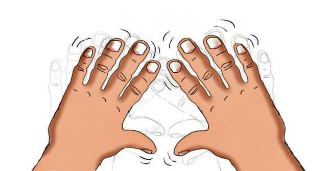 Почему трясутся руки у молодых людей — что вызывает тремор и как его снять