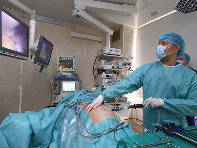 Лапароскопическая холецистэктомия: ход операции, подготовка