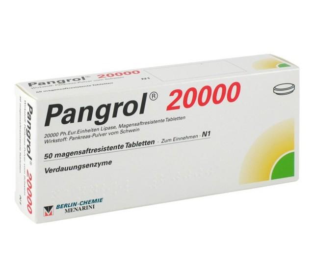 Пангрол или креон что лучше