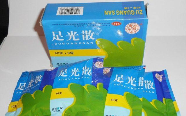 Китайская мазь от грибка