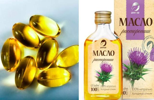 Масло расторопши в капсулах, в таблетках - польза и вред, как принимать