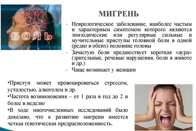 Почему рвота при мигрени - Симптомы и лечение болезней