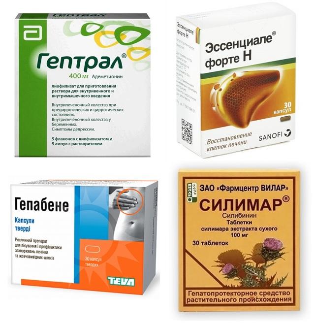 Таблетки для печени и поджелудочной железы: список лекарств