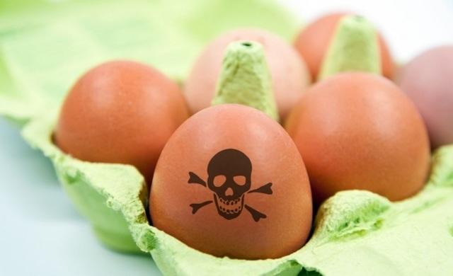 Отравление яйцами симптомы и лечение первая помощь