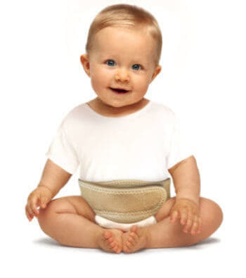 Бандаж для новорожденных от пупочной грыжи: целесообразность и правила использования при пупочной грыже